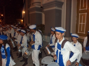 festa da padroeira - Apresentação das bandas