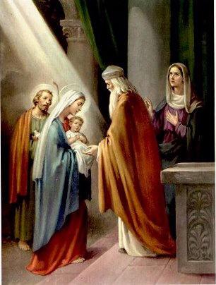 apresentação do menino jesus
