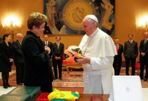 dilma e o papa